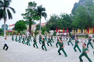 Chú trọng nâng cao chất lượng Hội thao quân sự cấp cơ sở