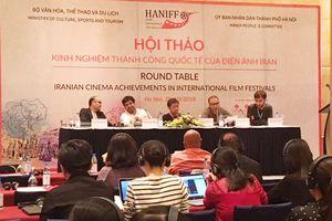 Hội thảo 'Kinh nghiệm thành công quốc tế của điện ảnh Iran'