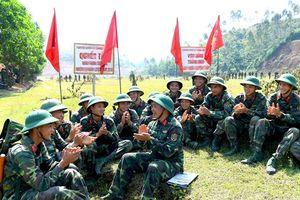 Giải pháp quan trọng xây dựng quân đội vững mạnh về chính trị