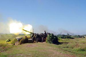 Diễn tập chiến thuật hiệp đồng quân binh chủng