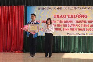 Quảng Ninh vinh danh nhà vô địch Olympic tiếng Anh