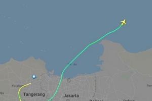 Indonesia: Boeing 737 rơi xuống biển, 200 hành khách trên máy bay