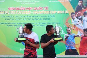 Nhà vô địch quần vợt Vietnam F4 Futures có bạn đánh đôi mới
