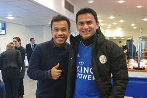 Kiatisak và Thonglao may mắn thoát nạn trong vụ rơi trực thăng của ông chủ Leicester