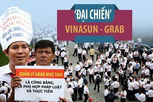 'Đại chiến' Vinasun - Grab: Tạm dừng phiên tòa đến 22.11