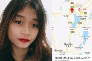 Nghi án thiếu nữ bị bắt cóc sang Trung Quốc nhắn tin cầu cứu gia đình
