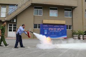 Nhiều địa bàn tại Hà Nội diễn tập phòng chống cháy nổ