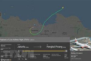 Boeing 737 MAX phát tín hiệu yêu cầu trở lại điểm xuất phát