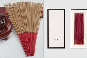 Gucci ra mắt sản phẩm hương đốt sang chảnh mà dân tình cứ đem so sánh với nhang cho người chết