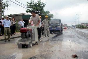 Quốc lộ 5 hư hỏng nặng vẫn 'cõng' hàng chục nghìn lượt xe mỗi ngày