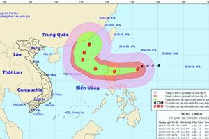 Bão Yutu mạnh cấp 13 sẽ đổ bộ đảo Luzon của Philippines
