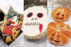 Lễ hội Halloween 2018: Xem 'thợ' bếp 'hóa trang' cho bánh