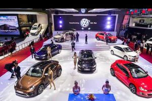 Gần 110 đơn đặt hàng các mẫu xe Volkswagen tại Triển lãm Ô tô Việt Nam 2018
