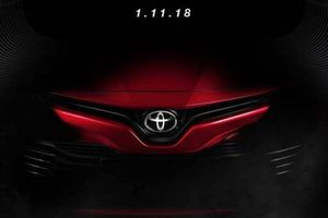Toyota Camry 2019 sắp ra mắt tại Malaysia