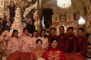 Hé lộ những hình ảnh đầu tiên về đám cưới Đường Yên - La Tấn