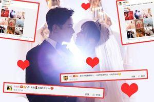 Tổng hợp những lời chúc ngọt ngào của dàn sao Hoa Ngữ dành cho cặp vợ chồng mới cưới Đường Yên - La Tấn