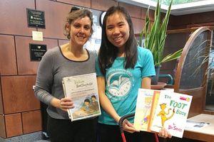 Nữ tiến sĩ 8x góp phần đưa hàng nghìn cuốn sách giáo khoa từ Mỹ về Việt Nam