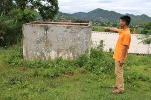 Xã Đông Phong (Hòa Bình): Xót xa công trình cấp nước 'đắp chiếu'