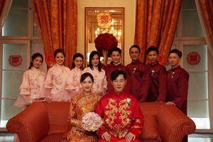 Những hình ảnh hiếm hoi trong hôn lễ cổ tích của Đường Yên - La Tấn