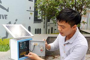 Đà Nẵng: Sinh viên sáng chế hệ thống kiểm soát ô nhiễm không khí thông minh
