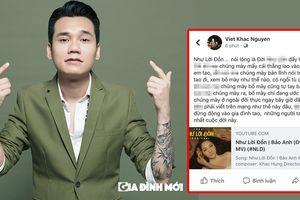 Khắc Việt chửi bới thô tục, dọa 'bắn nát đầu' người 'bắt nạt' em trai Khắc Hưng