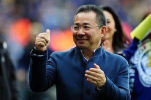 Chân dung tỷ phú Thái - Chủ tịch CLB Leicester City quảng cáo bia Sài Gòn vừa bị rơi trực thăng
