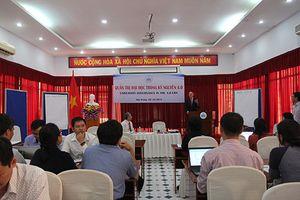 Đại học Nha Trang tổ chức hội thảo Quản trị đại học trong kỷ nguyên 4.0