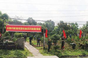 LLVT TP Cẩm Phả chung sức xây dựng nông thôn mới