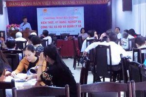 Đà Nẵng: Cán bộ Chữ thập đỏ được bồi dưỡng nghiệp vụ công tác xã hội và quản lý ca