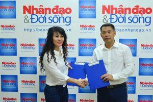 Báo điện tử Nhân đạo & Đời sống ký thỏa thuận hợp tác với Liên hiệp các CLB Yoga Việt Nam