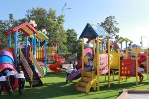 SCG xây dựng sân chơi chất lượng cao cho trẻ em xã Long Sơn, tỉnh Bà Rịa Vũng Tàu