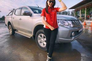 Trải nghiệm 'chất Mitsubishi' cùng nữ vận động viên chuyên nghiệp Leona Chin tại Hà Nội