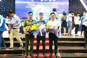Nam sinh Học viện ANND giành giải nhất Hội thi 'Olympic Tiếng Anh sinh viên toàn quốc'