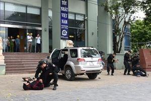 Diễn tập chống gây rối, cướp ngân hàng tại Nghệ An và Thanh Hóa