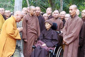 Trở về chùa Từ Hiếu, sức khỏe Thiền sư Thích Nhất Hạnh giờ ra sao?