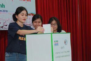 Phát động cuộc thi 'Biến đổi khí hậu với cuộc sống năm 2018' tại TP. Hồ Chí Minh