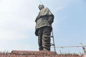Choáng với bức tượng Ấn Độ cao nhất thế giới - gấp hai lần tượng Nữ thần Tự do
