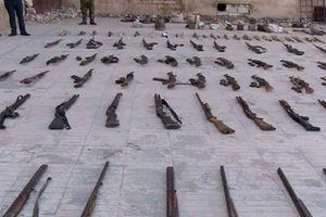 Syria phát hiện kho vũ khí khủng của phiến quân ở miền bắc Homs