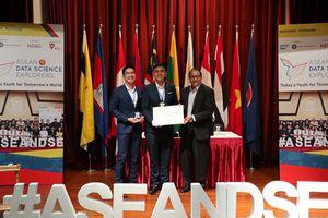 Đội tuyển Việt Nam đoạt giải trong cuộc thi Khám phá khoa học số ASEAN