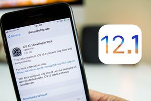 Đã có thể tải iOS 12.1 - kích hoạt eSIM, gọi FaceTime nhóm