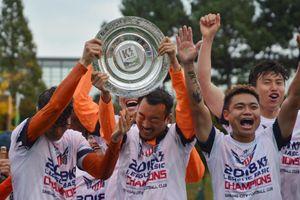 Cựu tuyển thủ U23 Việt Nam vô địch giải K3 Hàn Quốc