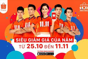 Hơn 1.111 thương hiệu tham gia Ngày hội 11.11 Shopee siêu sale tại Việt Nam