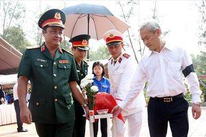 Truy điệu, an táng hài cốt 13 liệt sĩ được tìm thấy tại tỉnh Đồng Nai