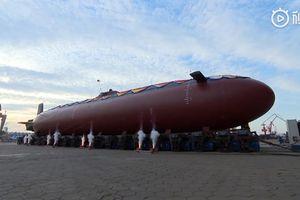 Lộ diện tàu ngầm mini cực kỳ bí ẩn của Trung Quốc