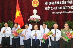 Ông Lê Tuấn Phong được bầu giữ chức Phó Chủ tịch UBND tỉnh Bình Thuận