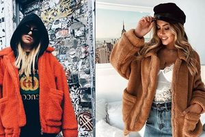 Kiểu áo khoác dành cho những cô nàng không có 'gấu'