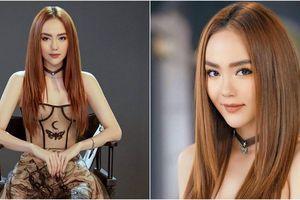 Bí quyết mặc váy trong suốt của Minh Hằng trên truyền hình