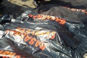 Máy bay Indonesia chở 189 người rơi: 24 túi đựng thi thể chờ giám định