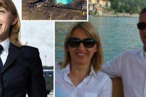 Xúc động cuộc tình của cặp phi công tử nạn vụ trực thăng rơi