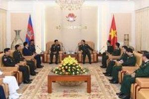 Tăng cường hợp tác giữa Quân đội hai nước Việt Nam - Campuchia